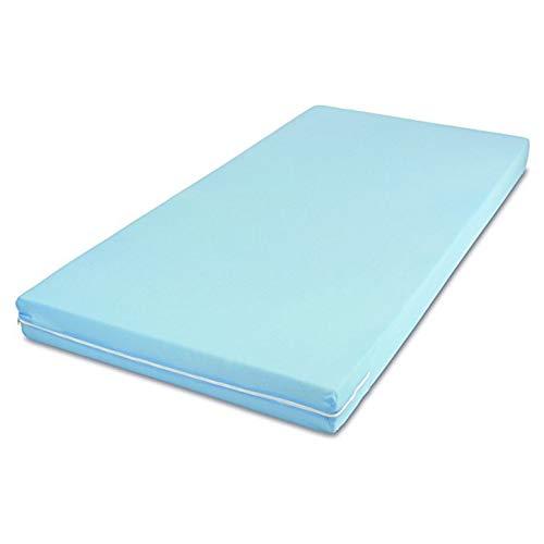 MSS Roll-Matratze, Easy Active, 100 x 200 x 11 cm, H3, Bezug Blau, Schaumstoff